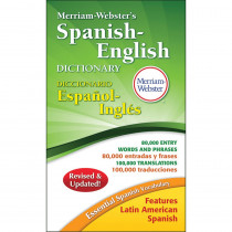MW-8248 - Merriam Websters Spanish-English Dictionary Paperback in Reference Books