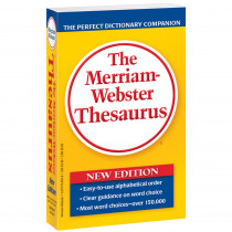 MW-8508 - Merriam Websters Thesaurus Paperbck in Reference Books