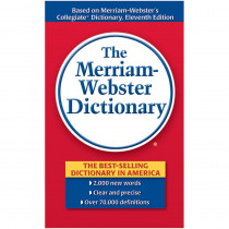 MW-9306 - Merriam Websters Dictionary Paperback in Reference Books