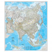 NGMRE00620145 - Asia Wall Map 34 X 38 in Maps & Map Skills