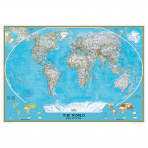 NGMRE00622007 - World Mural Map in Maps & Map Skills