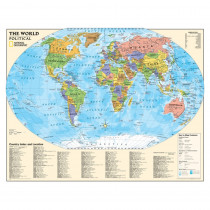 NGMRE01020564 - Political Series World Map in Maps & Map Skills