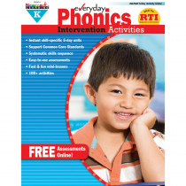 NL-0414 - Everyday Phonics Gr K Intervention Activities in Phonics