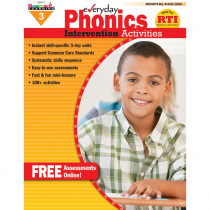 NL-0417 - Everyday Phonics Gr 3 Intervention Activities in Phonics