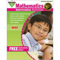 NL-1008 - Everyday Mathematics Gr 1 Intervention Activities in Activity Books