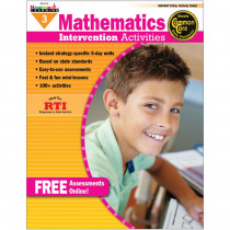 NL-1010 - Everyday Mathematics Gr 3 Intervention Activities in Activity Books