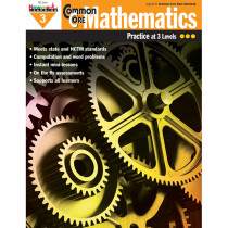 NL-1306 - Common Core Mathematics Gr 3 in Activity Books