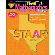 NL-3267 - Staar Math Practice Grade 3 in Activity Books