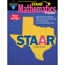 NL-3269 - Staar Math Practice Grade 5 in Activity Books