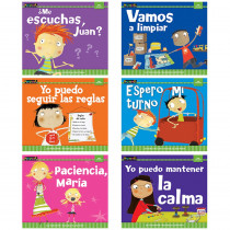 NL-3322 - Control Of Myself Spanish 6 Pk Bk Myself Readers in Books