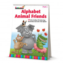 NL-4679 - Learning Flip Charts Alphabet Animal Friends in Language Arts