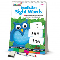 NL-4680 - Learning Flip Charts Nonfiction Sight Words in Sight Words
