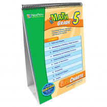 NP-335001 - Math Flip Chart Set Gr 5 in Math
