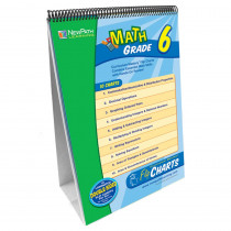 NP-336001 - Math Flip Chart Set Gr 6 in Math