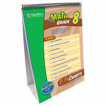 NP-338001 - Math Flip Chart Set Gr 8 in Math
