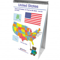 NP-350024 - Geography Early Childhood Social Studies Readiness Flip Chart in Geography
