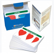 NP-431011 - Math Vocab Flash Cards Gr 1-2 in Flash Cards