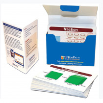 NP-433011 - Math Vocabulary Flash Cards Gr 3-5 in Flash Cards