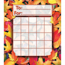 NST2213 - Fall Leaves Mini Incentive Charts in Holiday/seasonal