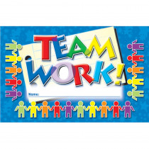 NST2407 - Incentive Punch Cards Teamwork 36/Pk in Tickets