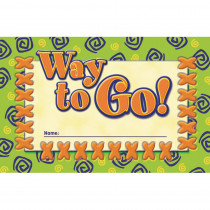 NST2412 - Incentive Punch Cards Way To Go 36/Pk in Tickets