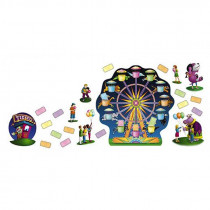 NST3017 - Bulletin Board Set Ferris Wheel in Classroom Theme