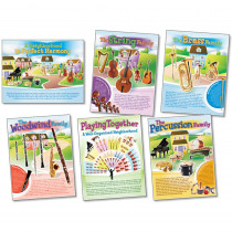NST3037 - Musical Instruments Posters in Miscellaneous