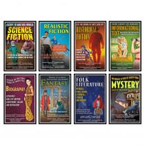 NST3045 - Literary Genres Bulletin Board Set in Language Arts