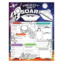 NST3093 - Launch Into Learn Fill Me In Poster in Miscellaneous