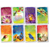 NST3113 - Give Thanks To God Bulletin Board Set in Inspirational
