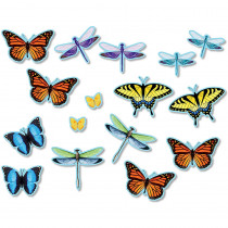 NST3213 - Butterflies Dragonflies Accents Bulletin Board Set in Accents