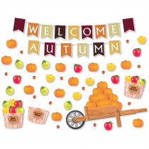 NST3500 - Welcome Autumn Bulletin Board Set in Classroom Theme