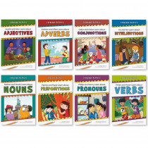 NW-LBPB1001 - Language Builders Set Of 8 Books in Language Skills