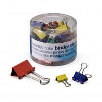 OIC31026 - Officemate Assorted Binder Clips in Clips