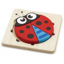 OTC50168 - Ladybug Handy Block Puzzle in Puzzles
