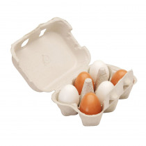 OTC59228 - Wooden Eggs in Play Food