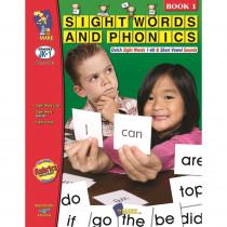 OTM18105 - Sight Words Phonics Book 1 Gr Pk-1 in Sight Words