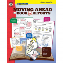 OTM18129 - Moving Ahead With Book Reports Gr 3-4 in Comprehension