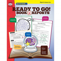 OTM18130 - Ready To Go Book Reports Gr 5-6 in Comprehension