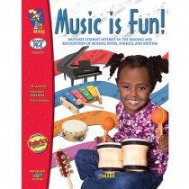 OTM510 - Music Is Fun Gr Pk-1 in Activity/resource Books