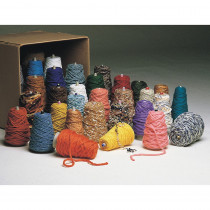 Yarn Value Box, Assorted Colors, Assorted Sizes, 10 lbs. - PAC0000470 | Dixon Ticonderoga Co - Pacon | Yarn