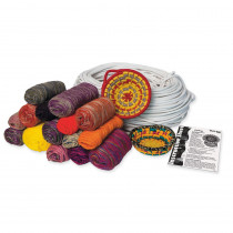 Baskets & Things Project Pack, Assorted Colors, 1,800 Yards of Yarn - PAC0000610 | Dixon Ticonderoga Co - Pacon | Yarn