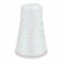 4-Ply Double Weight Rug Yarn Refill Cone, White, 8 oz., 315 Yards - PAC0002401 | Dixon Ticonderoga Co - Pacon | Yarn