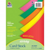 PAC101175 - Array Card Stock Brights Assorted Colors in Card Stock