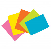 PAC1721 - Super Bright Index Cards 4X6 Unrule in Index Cards