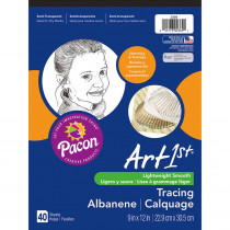 PAC2369 - Pacon Tracing Pads 9 X 12 in Sketch Pads