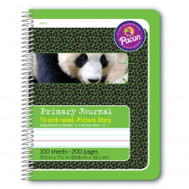 PAC2434 - Primary Journal 5/8In Ruled Picture Story Spiral Bound in Note Books & Pads