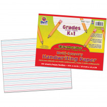 PAC2471 - Multi Sensory 100Sht Handwriting Tablet in Handwriting Paper