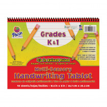 PAC2473 - Multi Sensory Handwriting Paper Spiral Bound in Note Books & Pads
