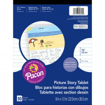 PAC2610 - Picture Story Paper Pad in Handwriting Paper